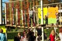 le parcours acrobatique