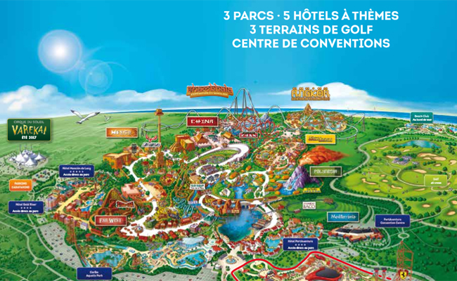 PortAventura Park En Espagne Organiser Un Séjour Avec Le Comité D - Sejour port aventura