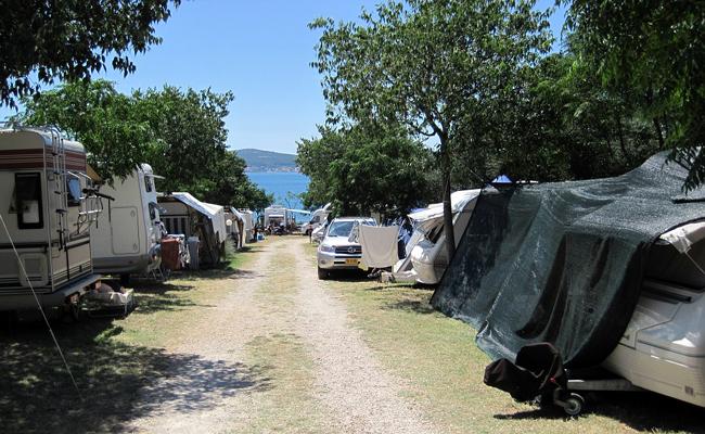 Camping pour le comité d'entreprise