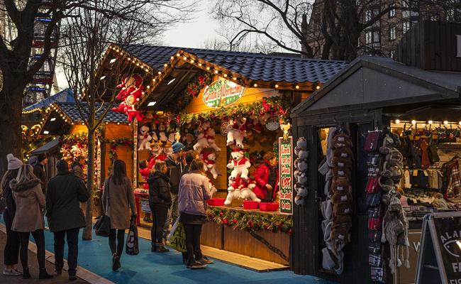 Organiser une visite de marché de Noël pour un comité d'entreprise