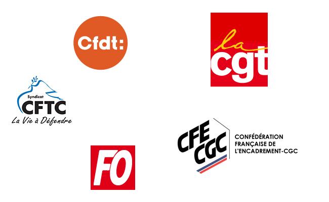 Quels sont les principaux syndicats de salariés français ?