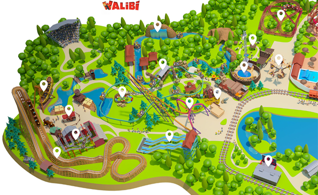 Parcs d'attractions Walibi