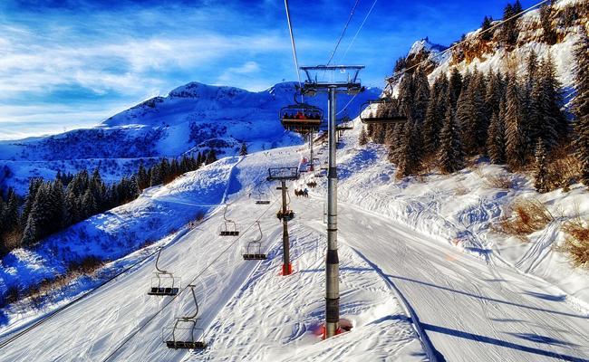 Séjour au ski avec le C.E.