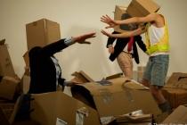 Photographie du tournage du clip video Sortie de secours par les JeanFrancoiZe (https://www.youtube.