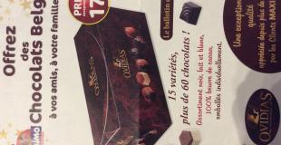 Ballotin chocolats