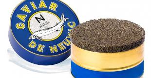 Caviar Baeri signature boîte origine