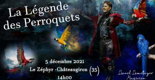 La légende des Perroquets - Spectacle de Noël
